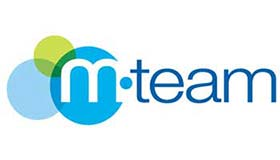 Small logo of the customer M-Team