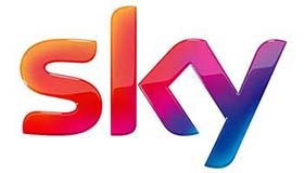 Small logo of the customer Sky