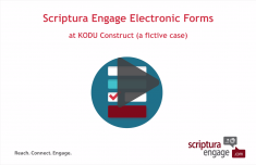 eforms - Scriptura Engage
